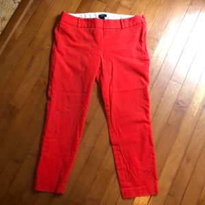 "J. Crew ""Winnie"" City Fit Pants. Size 8"